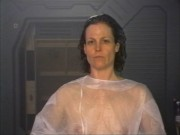 Sigourney Weaver - Alien Resurrection Costume Test (c-thru) (MU)