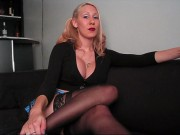 Solo financial domination blackmail in free clips