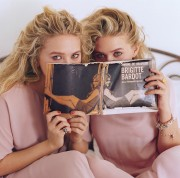 Mary-Kate & Ashley Olsen - Vogue - April 2011