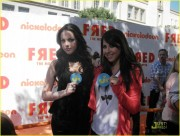 "Elizabeth Gillies & Daniella Monet - ""Fred: The Movie Premiere"