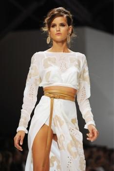 Изабель Гуларт, фото 1133. Izabel Goulart - Ermanno Scervino S/S 2012 Milan, foto 1133