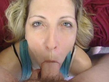 Mature blowjob and swallow