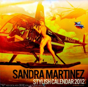Calendario Sandra Martinez 2012