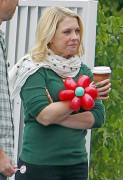 Melissa Joan Hart - Christmas party at her bakery 'Sweet Harts' in Sherman Oaks. December 17, 2011