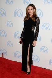 Анджелина Джоли, фото 7444. Angelina Jolie - Producers Guild awards, january 21, foto 7444