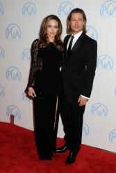 Анджелина Джоли, фото 7462. Angelina Jolie - Producers Guild awards, january 21, foto 7462