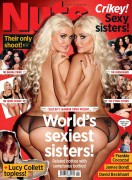 Kristina Shannon &amp;amp; Karissa Shannon  Nuts UK  10 February 2012 (x10)