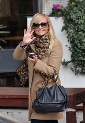 Эмма Бантон, фото 2254. Jan. 23th - London - Emma Bunton Leaving ITV Studios, foto 2254