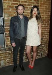 Лили Олдридж, фото 366. Lily Aldridge - HBO's 'Eastbound & Down' Season 3 Premiere in LA (Feb. 9), foto 366
