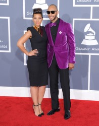 Алиша Киз (Алисия Кис), фото 3079. Alicia Keys 54th annual Grammy Awards - 12/02/2012 - Red Carpet, foto 3079