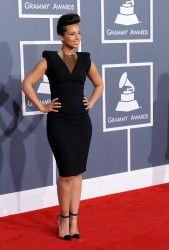 Алиша Киз (Алисия Кис), фото 3072. Alicia Keys 54th annual Grammy Awards - 12/02/2012 - Red Carpet, foto 3072