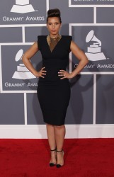 Алиша Киз (Алисия Кис), фото 3064. Alicia Keys 54th annual Grammy Awards - 12/02/2012 - Red Carpet, foto 3064