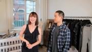 Karine Vanasse - Modelling Richard Chai Fall Collection - Vid/Screencaps/Gif