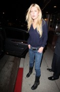Тара Рейд, фото 2384. Tara Reid leaves Carlitos Gardel Restaurant in Hollywood, february 29, foto 2384