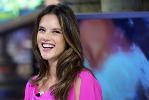 Алессандра Амброзио, фото 8201. Alessandra Ambrosio On 'El Hormiguero' TV Show in Madrid, 05.03.2012, foto 8201