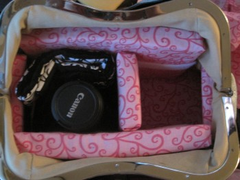 {Breezy Pink Daisies} DIY Camera Bag/Purse