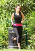 Kelly Brook Jogging Candids