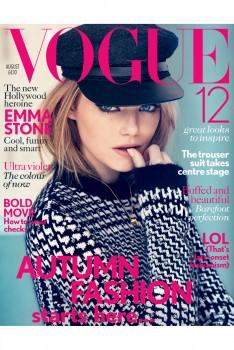 Emma Stone UK Vogue cover