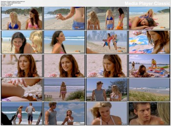 Phoebe Tonkin,Indiana Evans and Cariba Heine in bikinis - H2O:Just Add Water S03