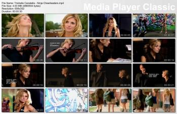 Trishelle Cannatella, Ginny Weirick, Maitland McConnell | Ninja Cheerleaders | Vid x7